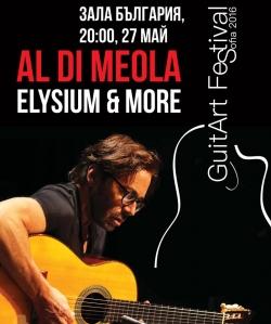 Al Di Meola - Sofia GuitArt Festival 2016